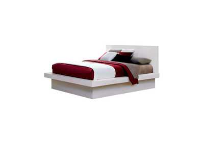 Image for Jessica Contemporary White California King Bed