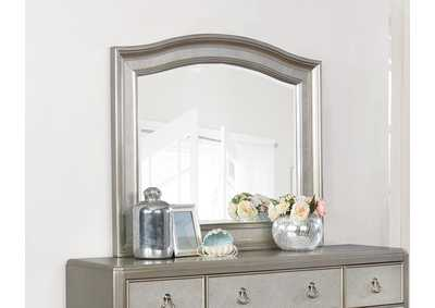 Metallic Platinum Dresser w/Mirror,Coaster Furniture
