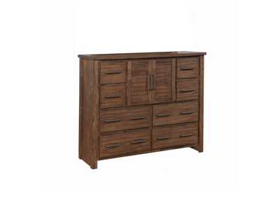 Spice Sutter Creek Vintage Bourbon Eight-Drawer Dresser W/ Two Doors,Coaster Furniture