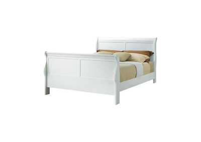 Image for Louis Philippe Traditional Youth White Full Bed