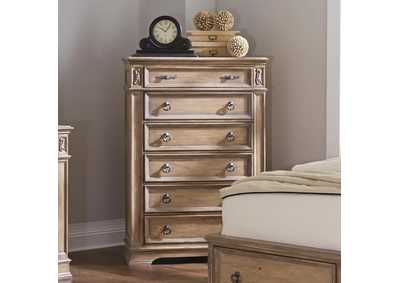 Ash Ilana Traditional Six-Drawer Chest,Coaster Furniture