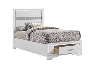 Image for Miranda White Twin Bed
