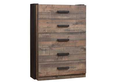 Cement Weston Weathered Oak and Rustic Coffee Chest