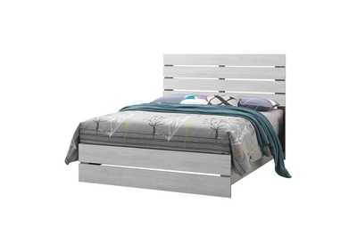 Image for Coastal White Eastern King Bed