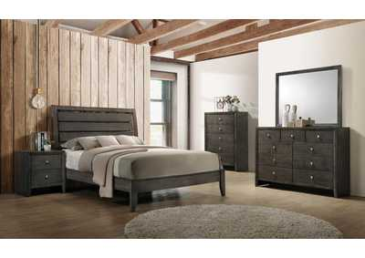 Image for Soft Peach 5 Piece Queen Bedroom Set