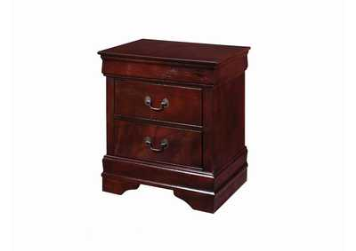 Image for Paco Louis Philippe Traditional Cherry Nightstand