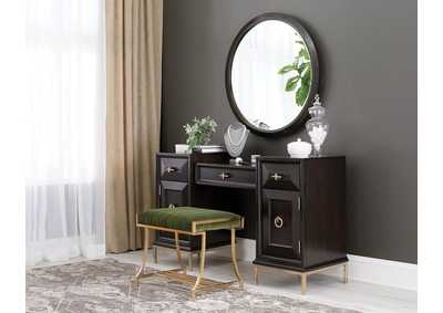Formosa Brown 3 Piece Vanity Set