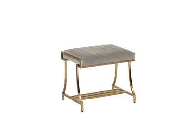 Image for Formosa Upholstered Vanity Stool Camel