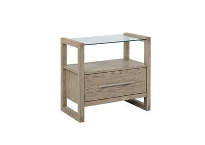Image for Pale Oyster Nightstand