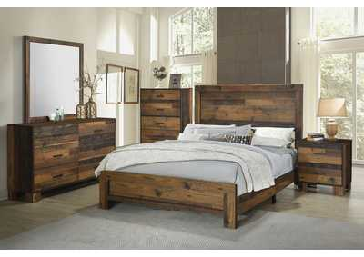 Image for Sidney Rustic Pine Twin Bed