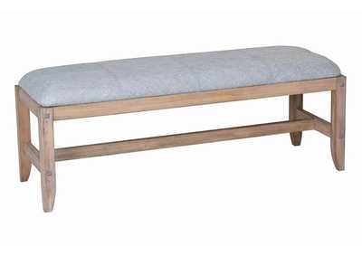 Image for Tawny Natural Bedside Bench