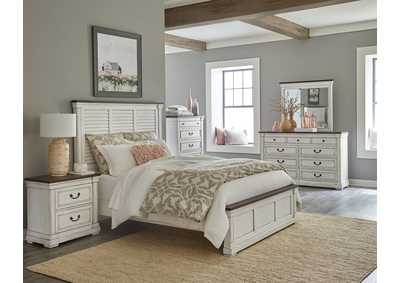 Image for Bitter Queen 5 Piece Bedroom Set W/ Nightstand, Chest, Dresser & Mirror