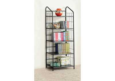 Image for Pampas Home Office Casual Black Bookcase