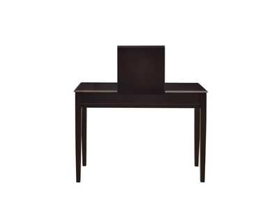 Cocoa Brown Contemporary Espresso Vanity and Dining Bench,Coaster Furniture