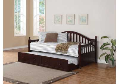 Image for Alabaster Coastal Cappuccino Twin Daybed