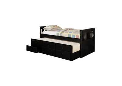 Cod Gray Transitional Black Twin Daybed