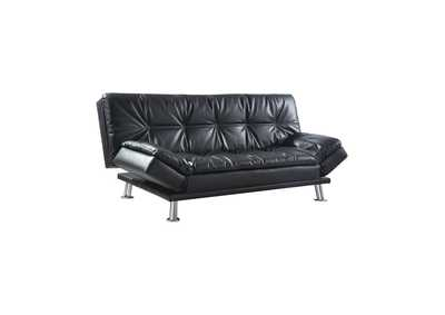 Image for Tuna Dilleston Contemporary Black Sofa Bed