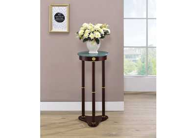 Merlot Traditional Round Plant Stand