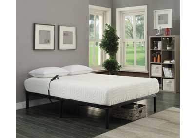 Stanhope Black Adjustable Queen Bed