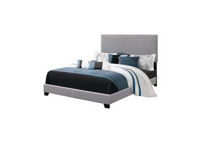 Image for Woodsmoke Boyd Upholstered Grey Twin Bed