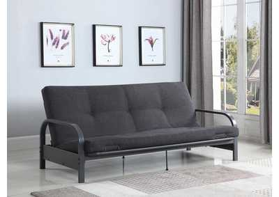 Image for Dark Grey Metal Futon Frame
