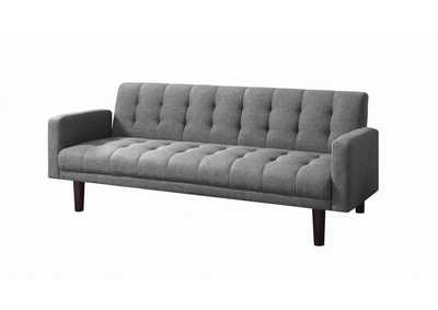 Image for Sommer Grey Tufted Sofa Bed