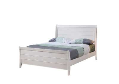 Image for Silver Selena Full Sleigh Bed