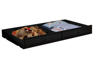 Image for Chapman Black Underbed Storage (Trundle Only)