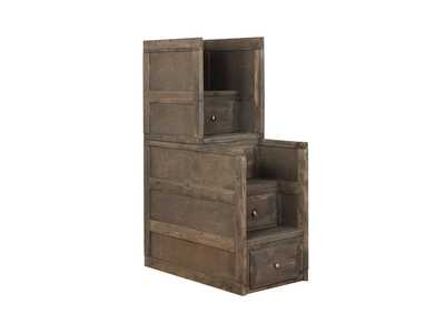 Kabul Wrangle Hill Gun Smoke Stairway Chest,Coaster Furniture