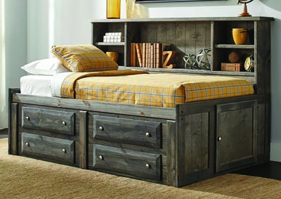 Rustic Gunsmoke Trundle