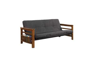 Image for Tundora Traditional Oak Futon Frame