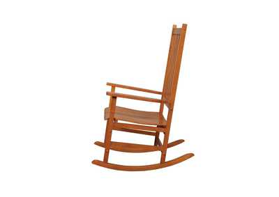 Warm Brown Traditional Wood Rocking Chair,Coaster Furniture