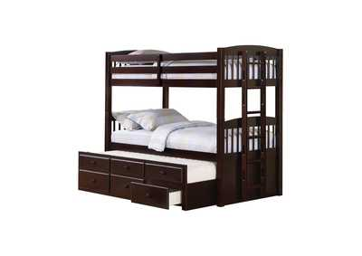 Image for Kensington Cappuccino Twin-over-Twin Bunk Bed