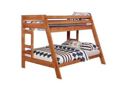 Image for Copper Wrangle Hill Twin-over-Full Bunk Bed
