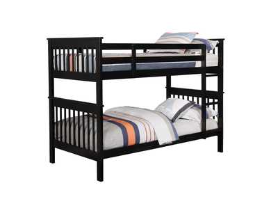 Cod Gray Twin/Twin Bunk Bed
