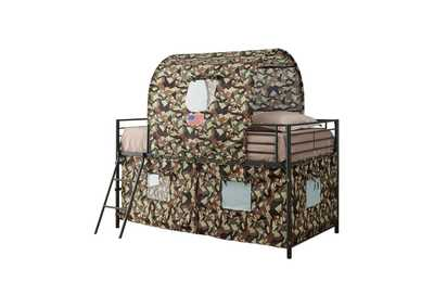 Armadillo Camouflage Tent Bunk Bed,Coaster Furniture