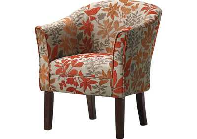 Cappuccino Autumn Accent Chair