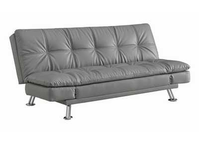 Dark Grey Dilleston Contemporary Dark Grey Sofa Bed,Coaster Furniture