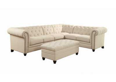 Coral Reef Roy Oatmeal Sectional