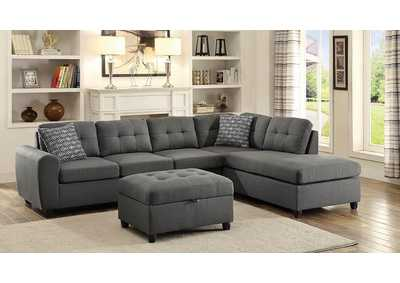 Image for Stonenesse Sectional Tundora 2 Piece Sectional & Ottoman Set