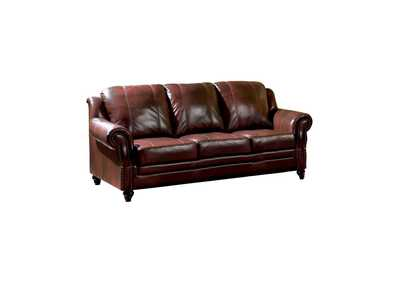 Diesel Princeton Traditional Burgundy Sofa