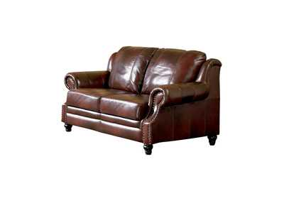Image for Diesel Princeton Traditional Burgundy Loveseat