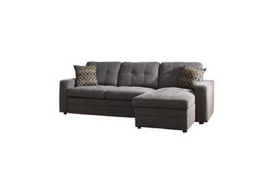 Mine Shaft Gus Casual Charcoal Sectional
