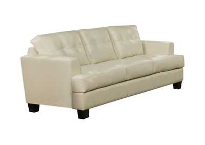 Image for Cappuccino Samuel Transitional Cream Sofa