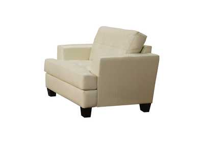 Image for Samuel Cushion Back Chair Cream