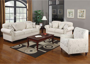 Image for Norah Cream Sofa & Love Seat