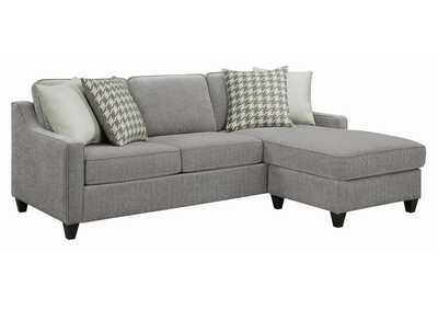 Image for Montgomery Charcoal Upholstered Sectional