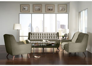 Image for Grey Sofa & Loveseat
