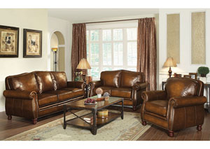Image for Brown Sofa & Loveseat