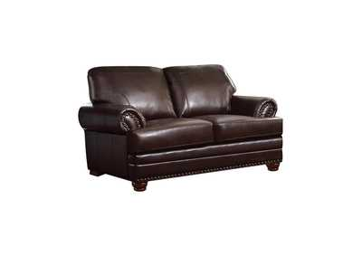 Image for Brown Colton Traditional Brown Loveseat